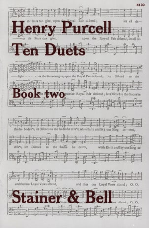 10 Duets Volume 2 PURCELL Partition Duos - laflutedepan