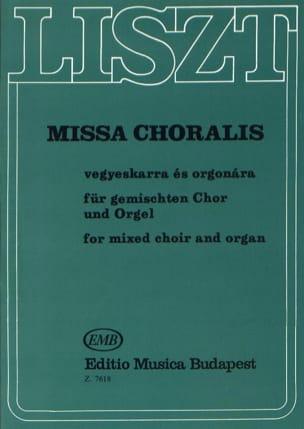 Missa Choralis. Franz Liszt Partition Chœur - laflutedepan