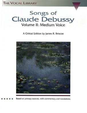 Songs Volume 2. Voix Moyenne DEBUSSY Partition Mélodies - laflutedepan
