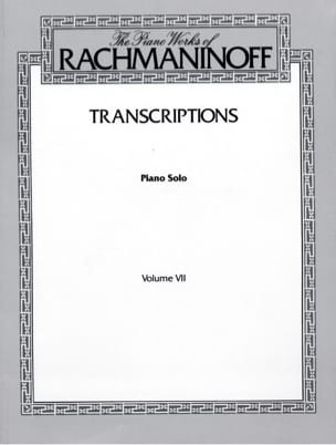 RACHMANINOV - transcripts - Sheet Music - di-arezzo.com