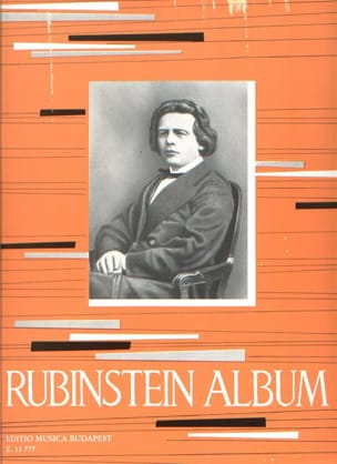 Album - Anton Rubinstein - Partition - Piano - laflutedepan.com