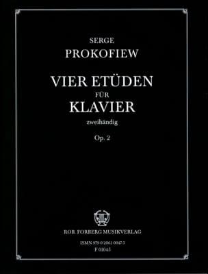 Sergei Prokofiev - 4 Opus 2 studies - Sheet Music - di-arezzo.com