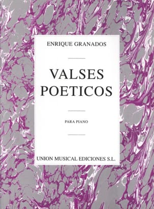 Valses Poétiques GRANADOS Partition Piano - laflutedepan
