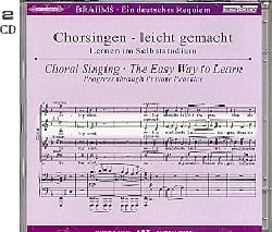 Ein Deutsches Requiem Opus 45. Voix Alto 2 CD BRAHMS laflutedepan