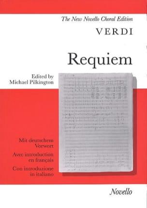 Giuseppe Verdi - Requiem - Partition - di-arezzo.fr