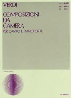 Composizioni Da Camera VERDI Partition Mélodies - laflutedepan