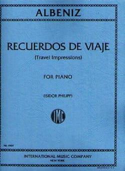 Isaac Albeniz - Recuerdos Of Viaje - Sheet Music - di-arezzo.com