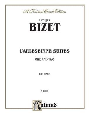 L'Arlésienne Suites 1 et 2 BIZET Partition Piano - laflutedepan