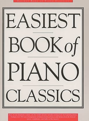 - Easiest Book Of Piano Classics - Sheet Music - di-arezzo.co.uk