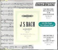 BACH - Concerto Pour Clavier En Ré Mineur. BWV 1052. CD - Partition - di-arezzo.fr