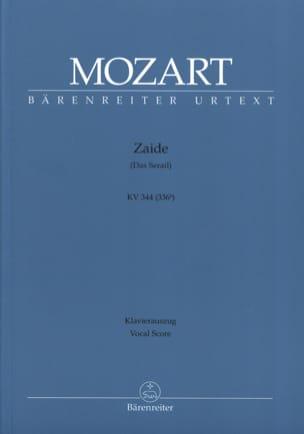 MOZART - Zaïde K 344 - Sheet Music - di-arezzo.co.uk