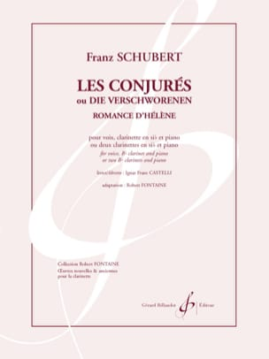SCHUBERT - Helen's romance. The Conjured - Sheet Music - di-arezzo.com