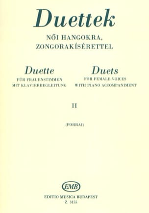 - Duets For Women's Voices Volume 2 - Sheet Music - di-arezzo.com