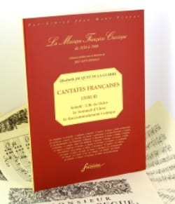 de la Guerre Elisabeth-Claude Jacquet - French Cantatas Book 3 - Sheet Music - di-arezzo.com