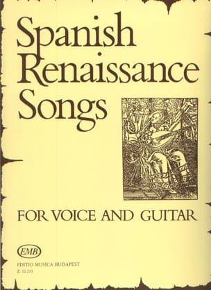 Spanish Renaissance Songs Partition Guitare - laflutedepan