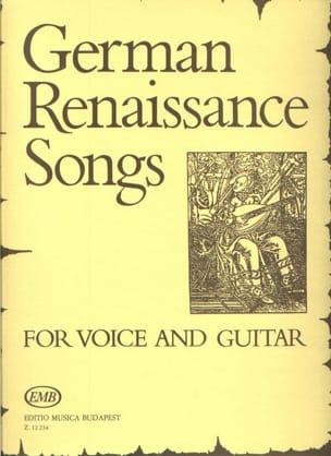 German Renaissance Songs. - Partition - Guitare - laflutedepan.com