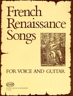 French Renaissance Songs. Partition Guitare - laflutedepan