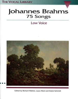 BRAHMS - 75 Songs. Deep voice - Sheet Music - di-arezzo.com