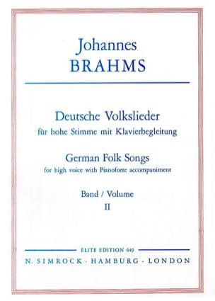 Deutsche Volkslieder Volume 2 Voix Haute - laflutedepan.com