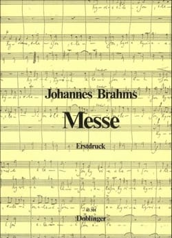 Johannes Brahms - Messe (Canonique) - Partition - di-arezzo.fr