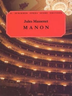 Jules Massenet - Manon - Sheet Music - di-arezzo.co.uk