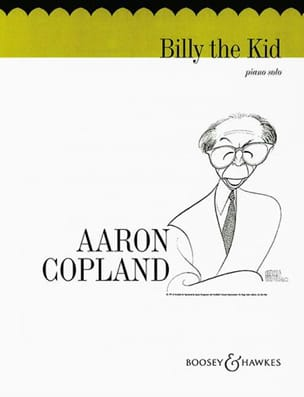 Aaron Copland - Billy The Kid Ballet Excerpts - Partition - di-arezzo.co.uk