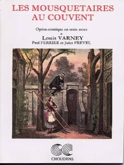 Louis Varney - The Musketeers At The Convent - Sheet Music - di-arezzo.com