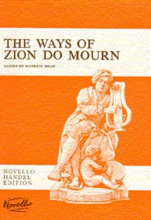 Georg-Friedrich Haendel - The Ways Of Zion Do Mourn - Partition - di-arezzo.fr