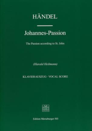 Johannes-Passion - Georg-Friedrich Haendel - laflutedepan.com