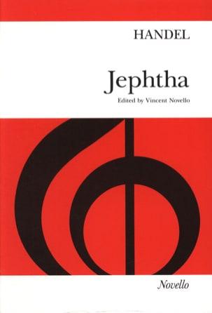 Jephté - HAENDEL - Partition - Chœur - laflutedepan.com