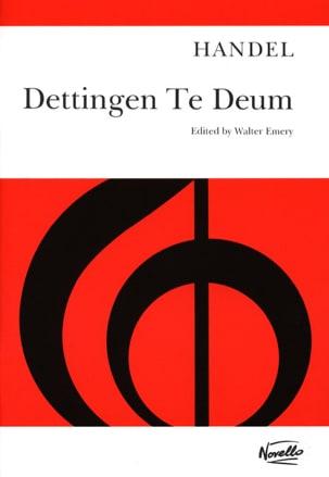 HAENDEL - Dettingen Te Deum - Sheet Music - di-arezzo.co.uk