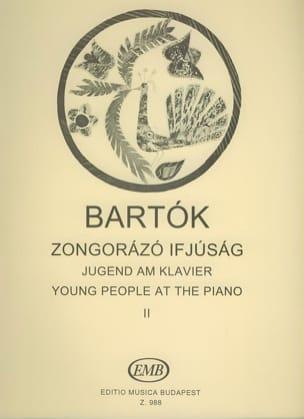 Les Jeunes Au Piano Volume 2 - Bela Bartok - laflutedepan.com