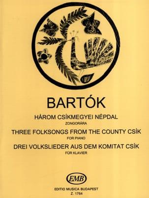 3 Volkslieder aus dem Komitat Csik - Bela Bartok - laflutedepan.com