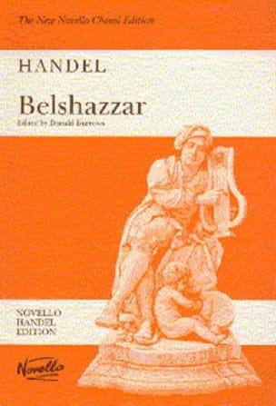 HAENDEL - Belshazzar - Sheet Music - di-arezzo.com