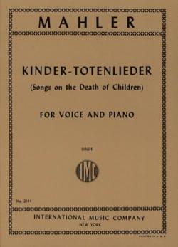 Kindertotenlieder - Voix Haute - Gustav Mahler - laflutedepan.com