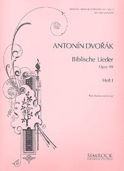 DVORAK - Biblische Lieder Opus 99 Serious Voice Volume 1 - Sheet Music - di-arezzo.co.uk