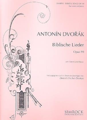 DVORAK - Biblische Lieder Version Fischer-Dieskau Serious Voice - Sheet Music - di-arezzo.com