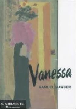 Samuel Barber - Vanessa - Partition - di-arezzo.fr