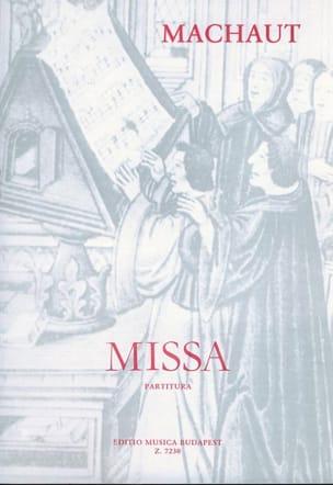 Missa Guillaume de Machaut Partition Chœur - laflutedepan
