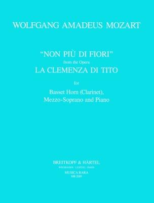 MOZART - No Piu Di Fiori K 621. The Clemenza Di Tito - Sheet Music - di-arezzo.com
