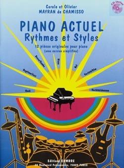de Chamisso Olivier et Carole Mayran - Piano Actuel - Partition - di-arezzo.fr
