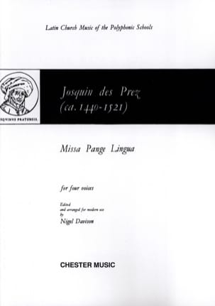 Josquin Després - Missa Pange lingua - Partition - di-arezzo.co.uk
