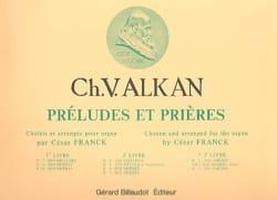 Charles Henri Valentin Aîné Alkan - Préludes et Prières - Volume 3 - Partition - di-arezzo.fr