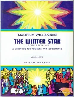 Malcolm Williamson - The Winter Star - Partition - di-arezzo.fr