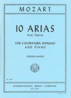 10 Arias From Opera For Coloratura Soprano - MOZART - laflutedepan.com