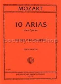 MOZART - 10 Arias From Opera Bass - Sheet Music - di-arezzo.co.uk