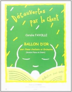 Coralie Fayolle - Ballon D'or - Partition - di-arezzo.fr