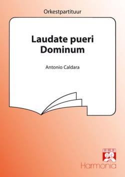 Laudate Pueri Dominum Psaume 112 - Antonio Caldara - laflutedepan.com