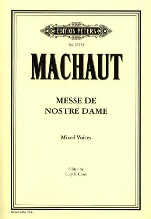 Guillaume de Machaut - Mass Our Lady - Partition - di-arezzo.co.uk