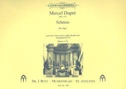 Marcel Dupré - Scherzo - Partition - di-arezzo.fr